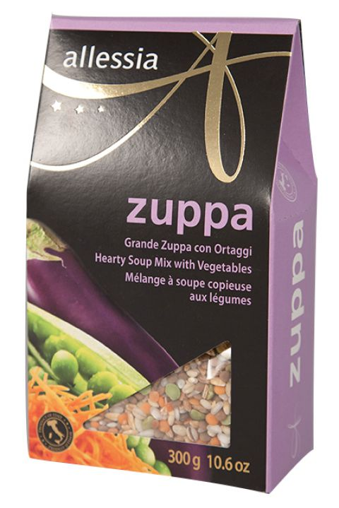 Allessia Zuppa Hearty Vegetable Soup 300g